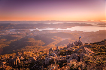 Mt Wellington - Breath taking view of Hobart