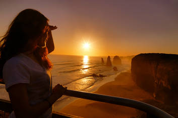 Sunset View of the 12 Apostles